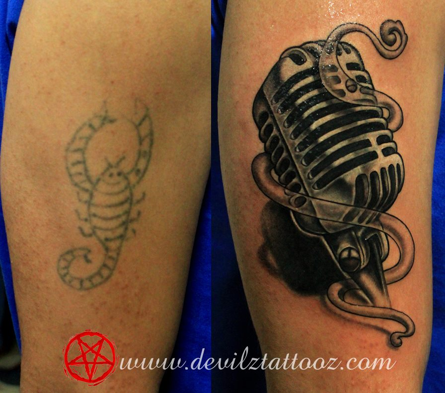 New School Cover up Tattoos Artist Cover up Tattoo