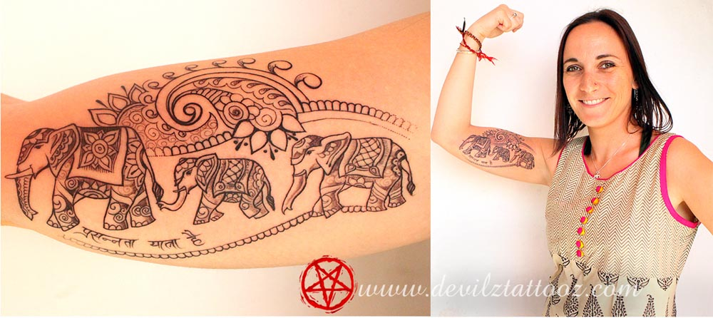 Elephant Tattoo Designs Ideas For Men And Women