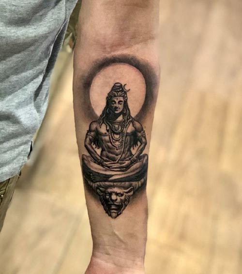 Shiva Tattoo Designs Ideas For Men And Women